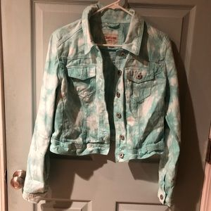 Mossimo Tye-dye denim jacket